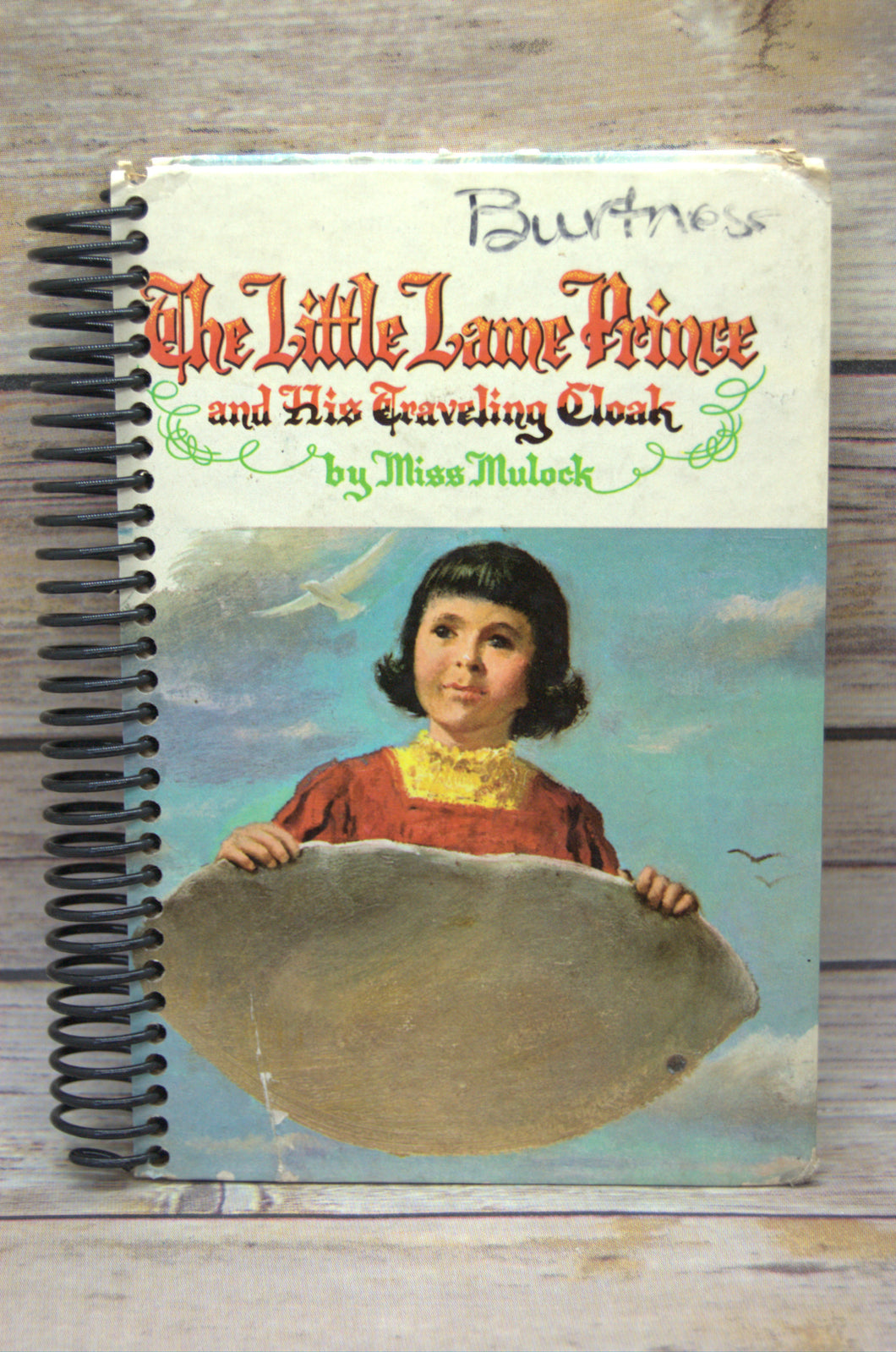 The Little Lame Prince Repurposed Book Journal