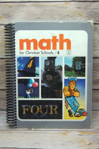 Math for Christian School Repurposed Book Journal