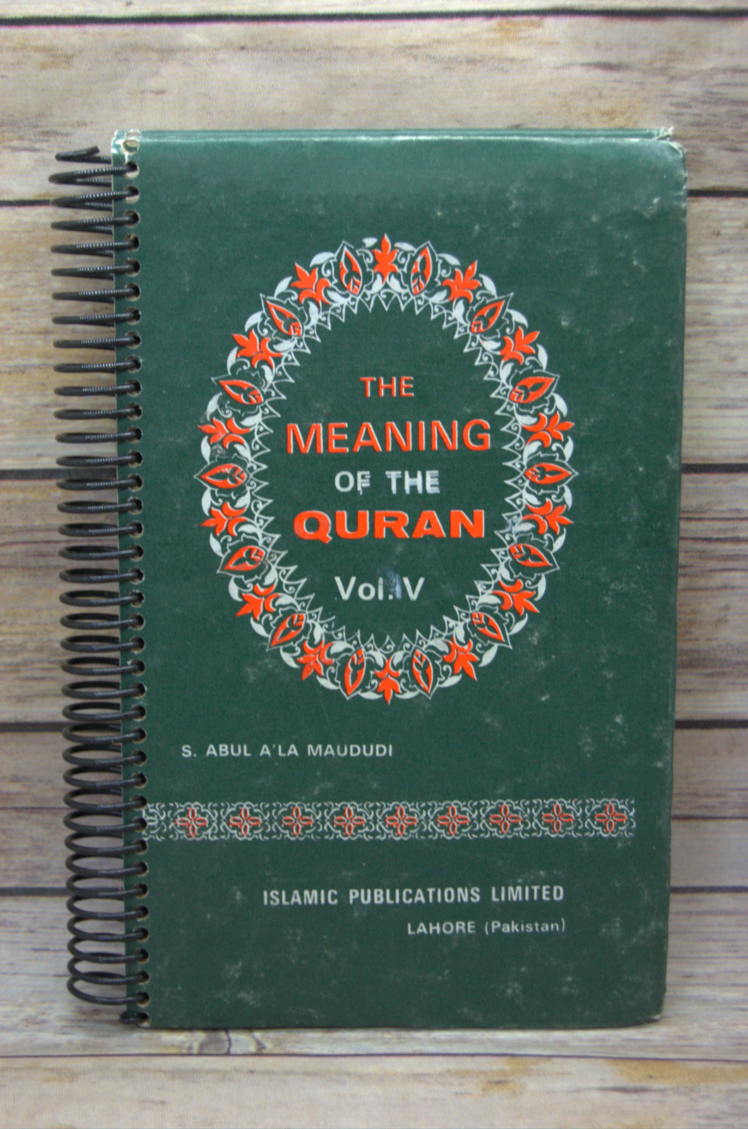The Meaning of the Quran Repurposed Book Journal