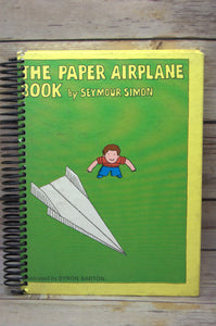 The Paper Airplane Book Repurposed Book Journal