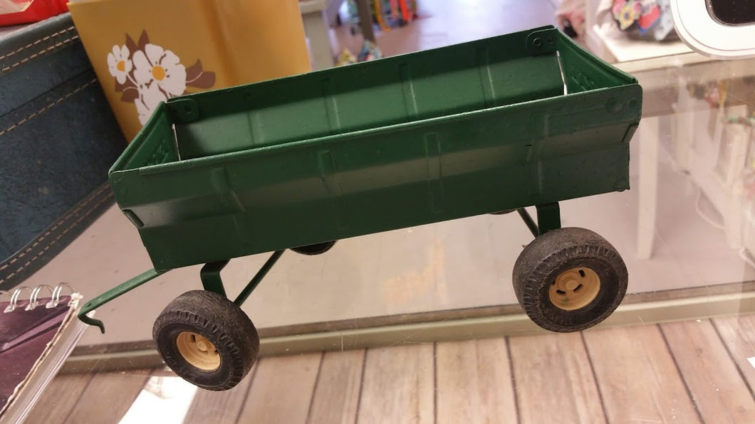 Vintage Toy Trailer - Green - Time & Again Shop