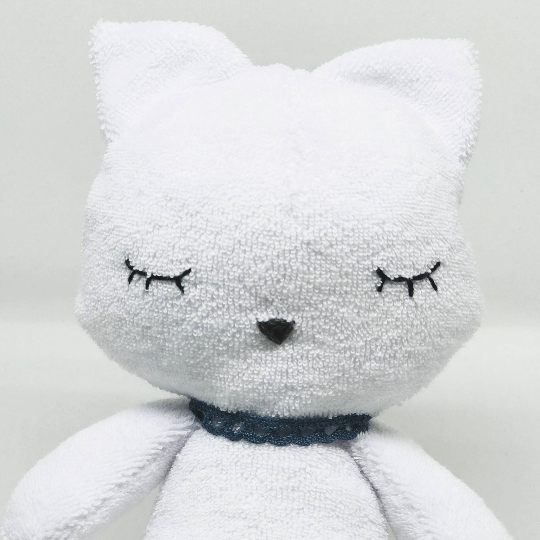 Doudou-fait-main-Le Chaton-Made-in-France-CamilledeGuillebon