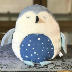 Doudou-fait-main-Le Pingouin-Made-in-France-CamilledeGuillebon