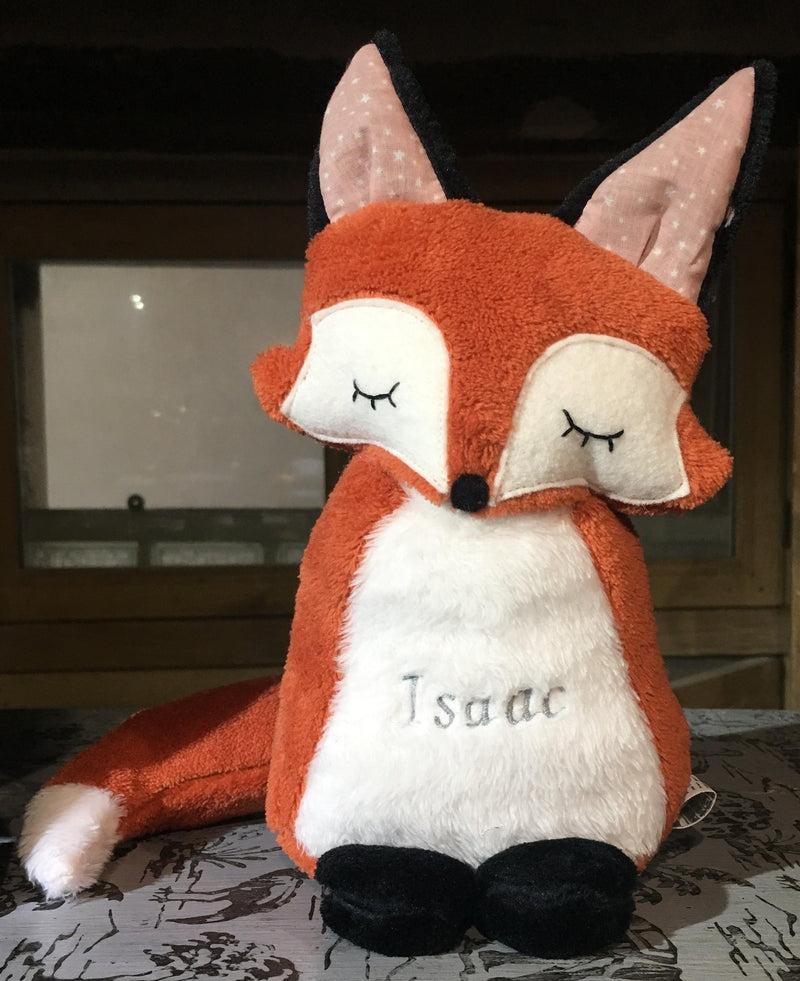 Doudou-fait-main-Le Renard-Made-in-France-CamilledeGuillebon