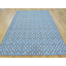 "Load image into Gallery viewer, 4'10""x7'2"" Hand Woven Reversible Flat Weave Oriental Kilim Rug FWR158472"