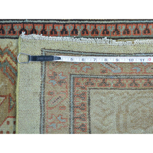 "3'1""x14'3"" XL Runner Antique Persian Serab Mint Cond Pure Wool Rug FWR158544"