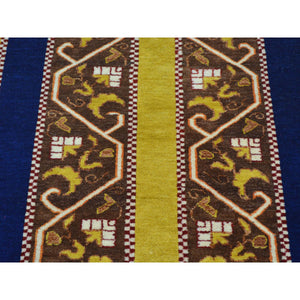 "Tribal And Geometric Rug (2'9""x8'3"") FWR161370"