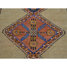 "Load image into Gallery viewer, 3'9""x14'4"" Antique Persian Serab Camel Hair Exc Cond XL Runner Rug FWR163062"