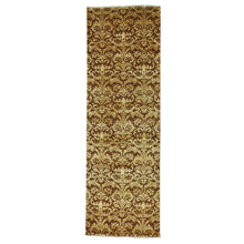 Load image into Gallery viewer, Handmade Modern and Contemporary Brown Rug
