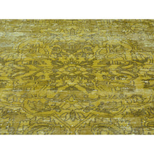 "Load image into Gallery viewer, 5'8""x9'8"" Semi Antique Hand Knotted Persian Bakhtiari Overdyed Vintage Rug FWR166896"