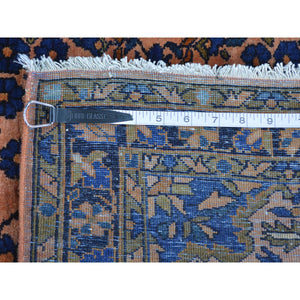 "2'1""x2'7"" Antique Persian Mohajeran Sarouk Full Pile Soft And Clean Rug FWR168690"