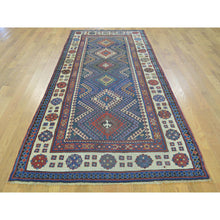 Load image into Gallery viewer, 4'x9' Antique Caucasian Talesh Exc Cond Wide Runner Hand Knotted Rug FWR169368