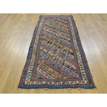 "Load image into Gallery viewer, 2'10""x7'8"" Antique Caucasian Gendge Exc Cond Runner Hand Knotted Rug FWR169374"