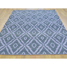 "Load image into Gallery viewer, 5'2""x7'5"" Flat Weave Reversible Kilim Pure Wool Hand Woven Oriental Rug FWR178788"