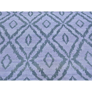 "5'2""x7'5"" Flat Weave Reversible Kilim Pure Wool Hand Woven Oriental Rug FWR178788"