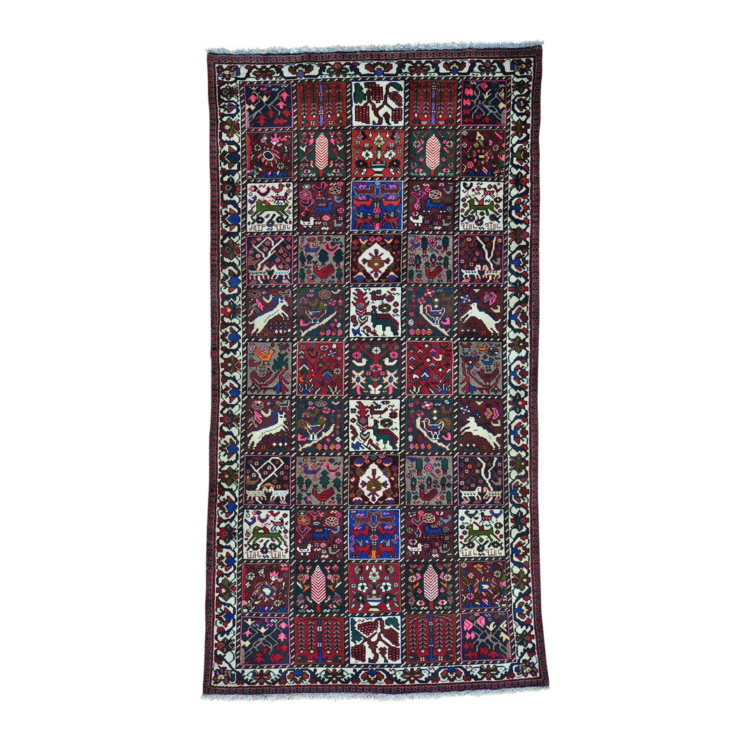 Handmade Persian Multicolored Rug