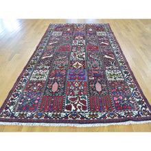 "Load image into Gallery viewer, 5'x9'7"" Persian Bakhtiari Garden Design Wide Runner Hand Knotted Rug FWR179472"