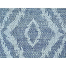 "Load image into Gallery viewer, 2'x3'3"" Hand Woven Pure Wool Reversible Kilim Oriental Rug FWR179622"