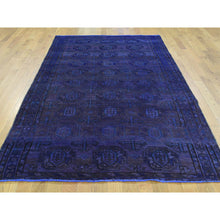 "Load image into Gallery viewer, 4'9""x8'9"" Overdyed Persian Bakhtiar Vintage Wide Runner Hand Knotted Rug FWR182712"
