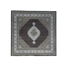 Load image into Gallery viewer, Handmade Fine Oriental Black Rug