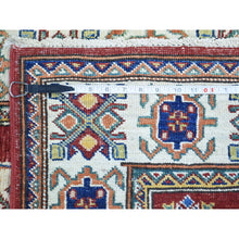 "Load image into Gallery viewer, 2'6""x18'3"" Hand-Knotted Super Kazak Tribal Design XL Runner Carpet FWR186000"