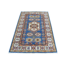 Load image into Gallery viewer, Handmade Kazak Blue Rug
