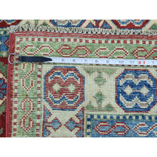 Load image into Gallery viewer, 4'x6' Hand-Knotted Kazak Tribal and Geometric Design Oriental Rug FWR187656