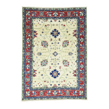 Load image into Gallery viewer, Handmade Kazak Beige Rug