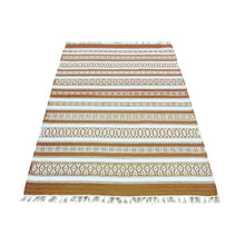 Load image into Gallery viewer, Handmade Flatweave Multicolored Rug