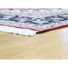 "Load image into Gallery viewer, 6'6""x10' Hand-Knotted Persian Tabriz Wool And Silk 400 KPSI Oriental Rug FWR191742"
