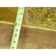Load image into Gallery viewer, 9'x12' Hand-Knotted Persian Overdyed Patchwork Oriental Vintage Carpet FWR191814