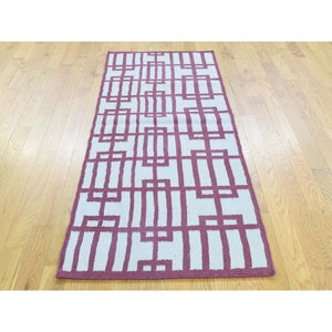 "2'5""x6'1"" Flat Weave Hand-Woven Reversible Kilim Oriental Runner Rug FWR192084"