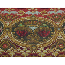 "Load image into Gallery viewer, 10'10""x14'5"" Antique European Donegal Pure Wool Oversize Oriental Rug FWR192126"