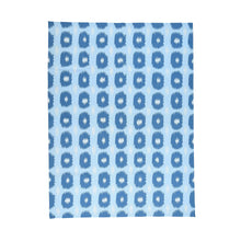 Load image into Gallery viewer, Handmade Flatweave Blue Rug