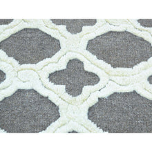 "Load image into Gallery viewer, 9'3""x11'7"" Moroccan Berber Design Hand-Knotted High And Low Pile Rug FWR192516"