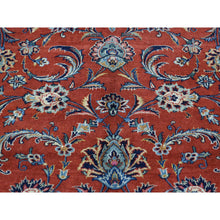 "Load image into Gallery viewer, 7'10""x11' Hand-Knotted Antique Persian Kashan Full Pile Oriental Rug FWR192810"