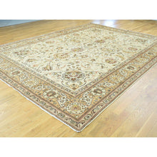 "Load image into Gallery viewer, 9'8""x12'10"" Antique Persian Tabriz Hand-Knotted Full Pile Oriental Rug FWR192822"