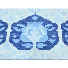 "Load image into Gallery viewer, 8'1""x10' Hand-Knotted Hand Spun Wool Arts And Crafts Oriental Rug FWR192984"