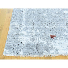"Load image into Gallery viewer, 8'9""x11'10"" Hand-Knotted Modern Broken Design Wool And Silk Oriental Rug FWR193056"