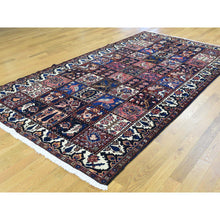 "Load image into Gallery viewer, 5'4""x9'10"" Persian Bakhtiari Garden Design Hand-Knotted Wide Runner Rug FWR193632"