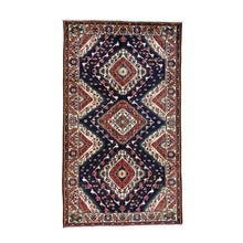 Load image into Gallery viewer, Handmade Persian Blue Rug