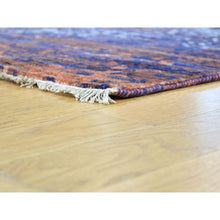 "Load image into Gallery viewer, 8'10""x11'10"" Wool and Silk Modern Broken Design Hand-Knotted Rug FWR194520"