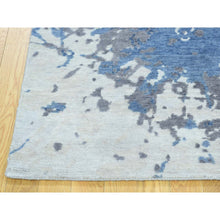 Load image into Gallery viewer, 6'x9' Hand-Knotted 100 Percent Wool Splash Abstract Design Carpet FWR195456