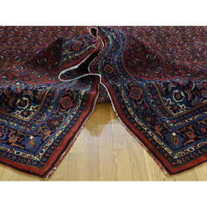 "10'5""x13'9"" Antique Persian Bijar Exc Cond Hand-Knotted Oriental Rug FWR197040"