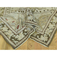 "Load image into Gallery viewer, 3'8""x15' Handmade Antique Caucasian Karabakh Pure Wool Wide Runner Rug FWR199068"