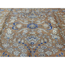 "Load image into Gallery viewer, 9'9""x13'3"" Hand-Knotted Antique Persian Sarouk Exc Cond Oriental Rug FWR201504"