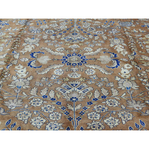 "9'9""x13'3"" Hand-Knotted Antique Persian Sarouk Exc Cond Oriental Rug FWR201504"