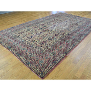 "7'2""x12'6"" Antique Turkish Sivas Mint Cond Gallery Size Hand-Knotted Rug FWR202542"