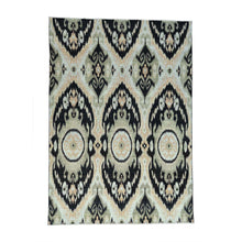 Load image into Gallery viewer, Handmade Ikat And Suzani Design Multicolored Rug