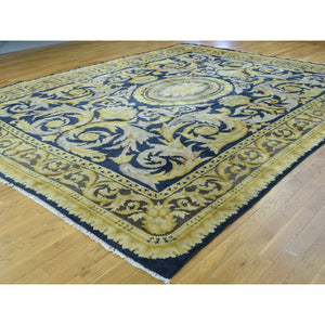 "10'10""x13'8"" Old Spanish Savonnerie Exc Cond Hand-Knotted Oversize Rug FWR206544"